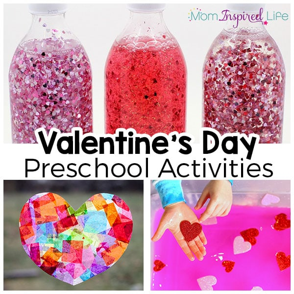 Preschool Valentine's Day activities that are fun and engaging.
