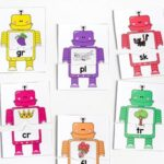 Beginning Blends Robot Puzzles
