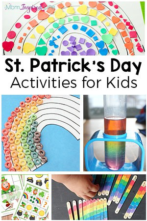 Colorful St. Patrick's Day Activities for Kids
