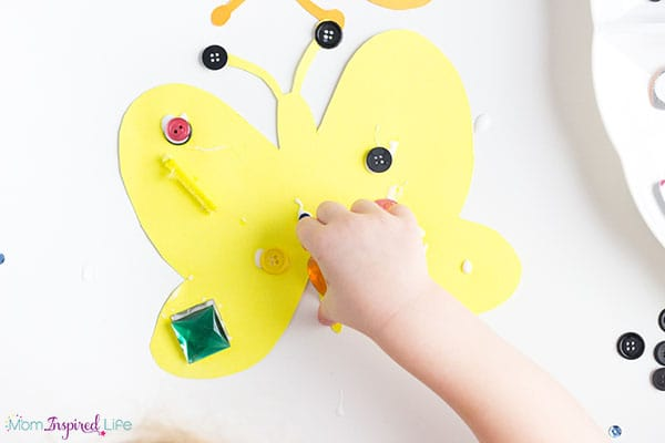 Butterfly art for preschoolers.