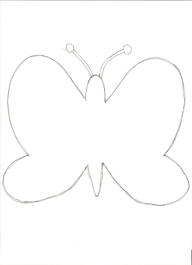 It's just a picture of Butterfly Cut Out Printable throughout nail decal