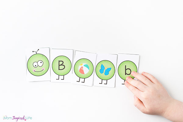 A fun spring alphabet and literacy activity for kids.