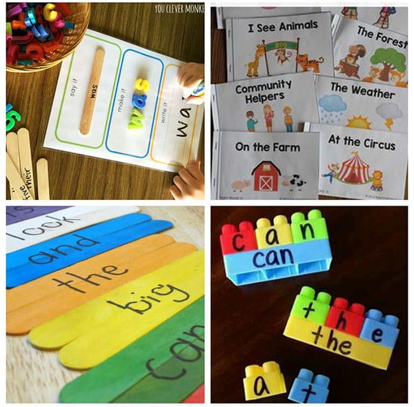 Hands-on sight word activities that are super fun for kids!