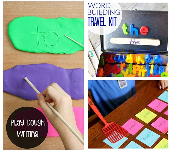 Learning sight words through play!