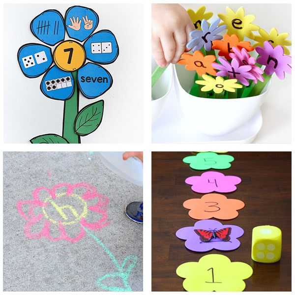 Preschool activities for spring theme lesson plans.