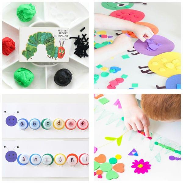 Spring theme bug activities for preschool.
