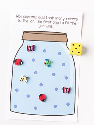 Bug jar counting game