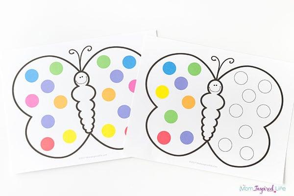 Do a dot butterflies
