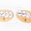 Bird nest number activity for spring.