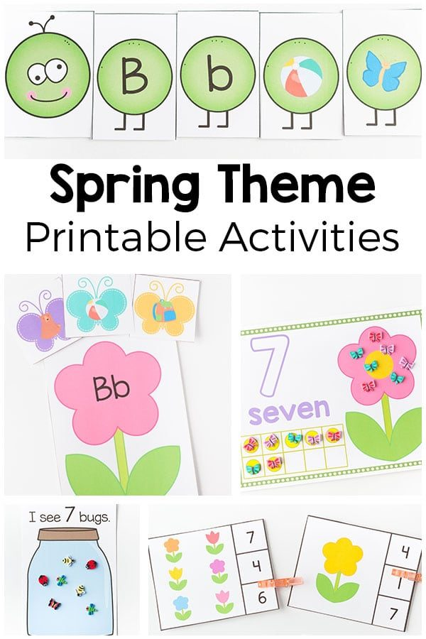 photo about Spring Printable named Spring Printable Pack
