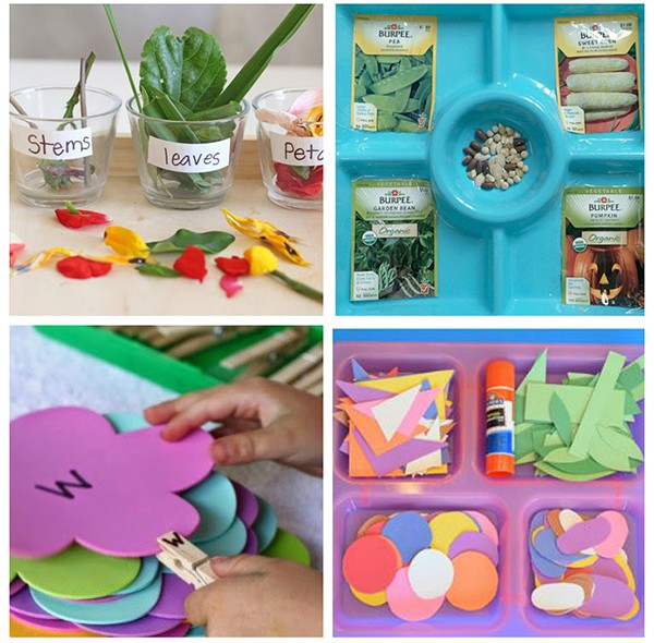 These spring flower activities are fun and engaging.