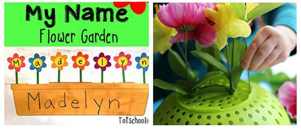 Flower learning activities.
