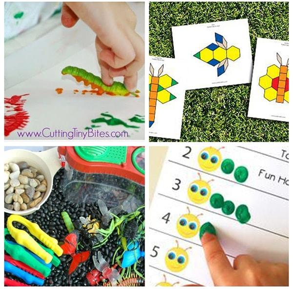 Butterfly and caterpillar activities for preschool.
