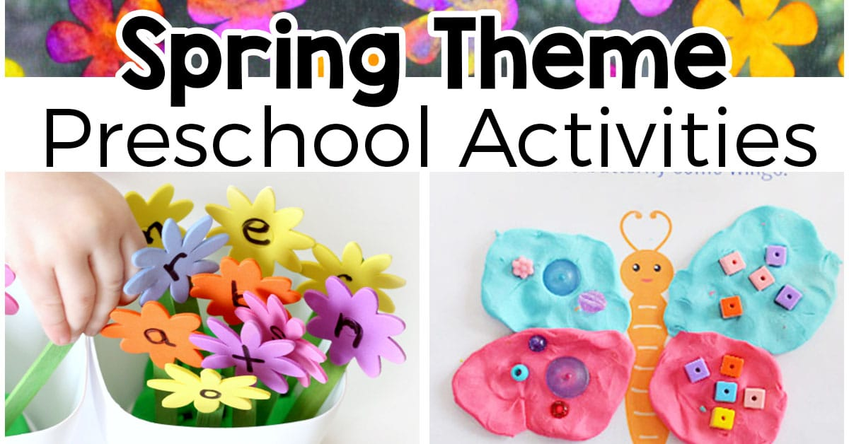 spring lessons for preschoolers theme activities for preschool 553