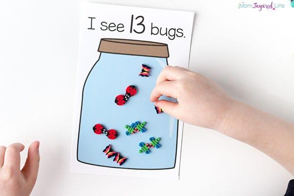 Bug activity for preschoolers.