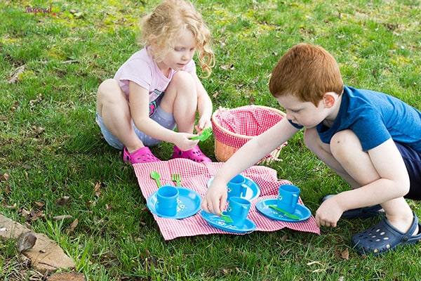 Picnic activity for kids