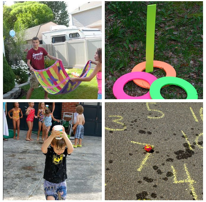 Games and activities for field day/