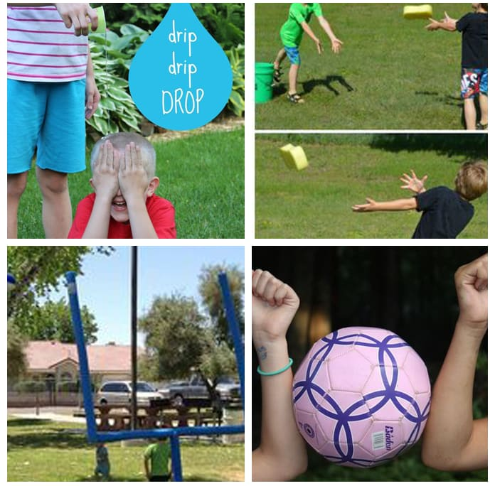 Summer fun and games for preschoolers and elementary kids!