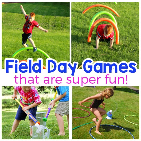 Field day games and activities that will excite your kids!