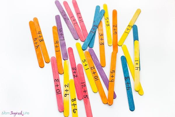 A super fun math activity for kids!