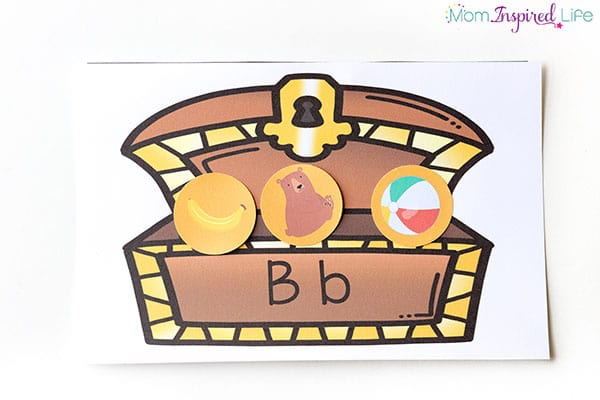 Teach the alphabet and initial sounds with this fun pirate activity!