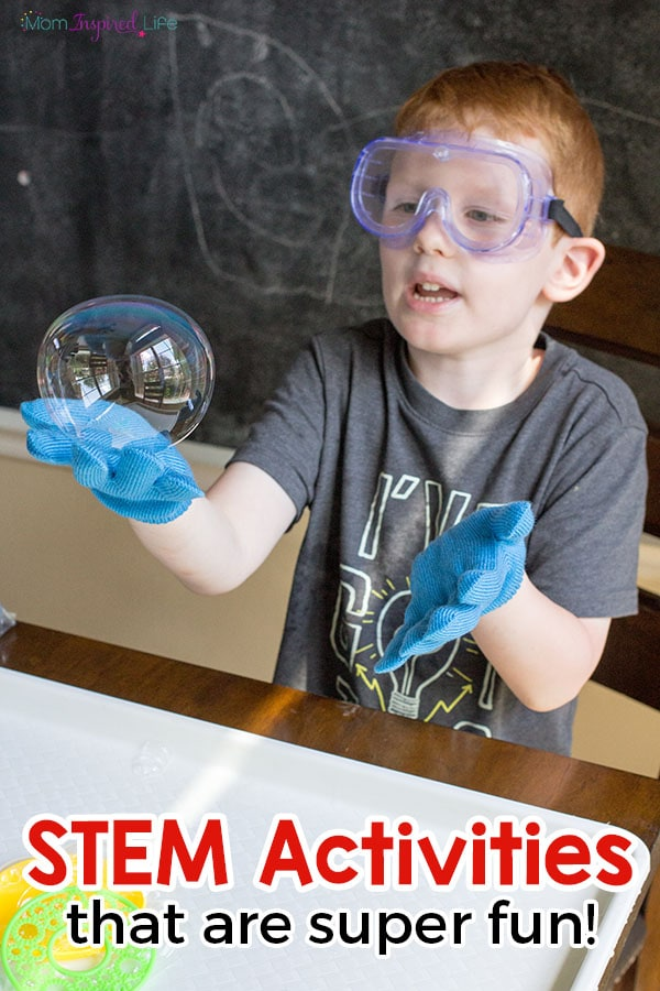 STEM activities for kids. STEM lesson that kids will get excited about!