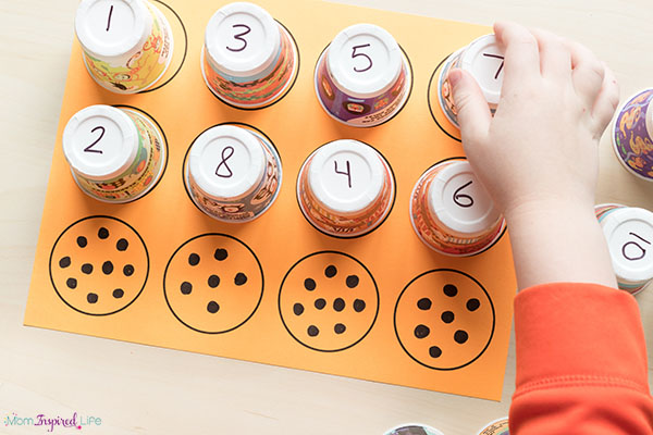 Learn numbers with a fun math activity.