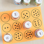 Counting and Number Matching with Paper Cups