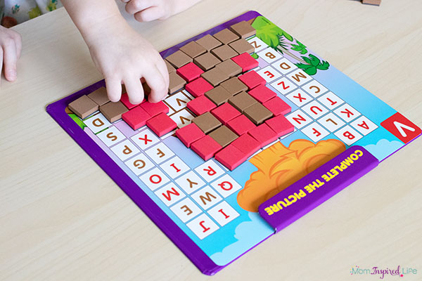 Learn the alphabet with fine motor activities.
