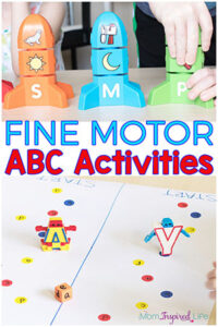 Fine Motor Alphabet Activities for Fun and Learning!