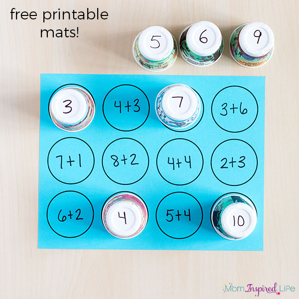 Teach math facts in a fun, hands-on way.