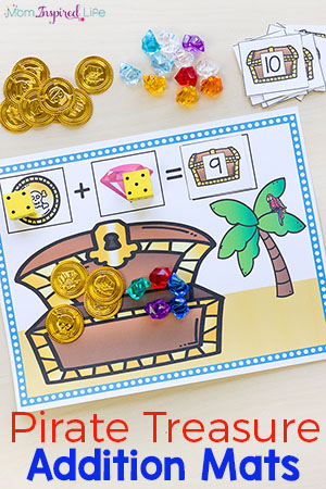 Pirate Treasure Addition Mats