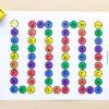 A fun printable alphabet board game.