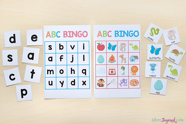 image regarding Printable Abc known as Printable Alphabet Actions Mega Package