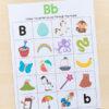 Kids love these beginning sounds alphabet mazes.