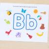 Fun letter sounds alphabet play dough mats.