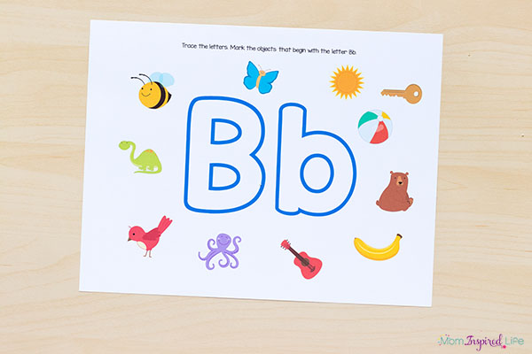 Fun letter sounds alphabet play dough mats.