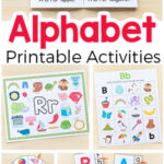 Alphabet Printables and Activities for Preschool and Kindergarten