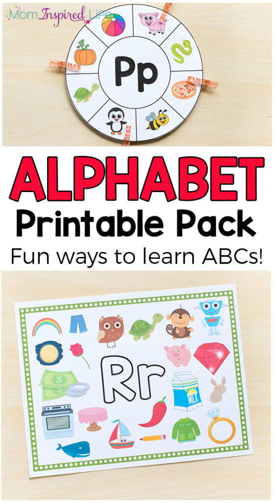 These alphabet printables and activities are perfect for preschool and kindergarten students. They cover letter recognition, letter sounds and more!