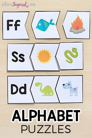 Beginning Sounds Alphabet Puzzles