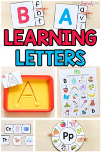 Learning Letters with Fun Activities