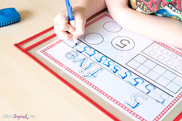 Teaching number sense in Pre-K, Kindergarten and First Grade.
