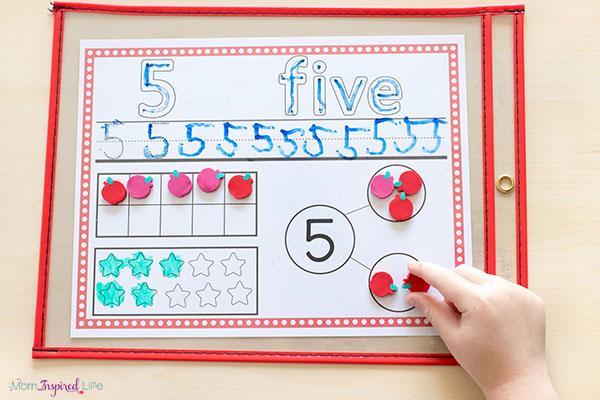 Number sense activity mats make teaching number sense super easy!