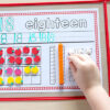 Your kids will enjoy learning math concepts with these number sense activity mats!