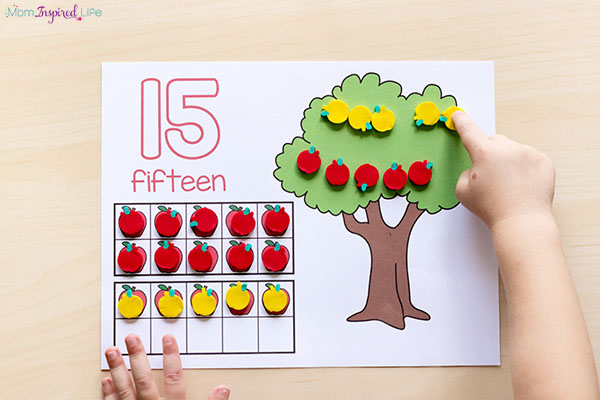 Fall math centers that kids will love!