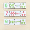 These apple number sense puzzles are perfect for your fall math centers!