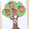 Apple Tree Beginning Sounds Matching Pin
