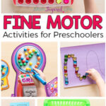 Favorite Fine Motor Activities for Preschoolers