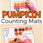 Fall Pumpkin Counting Mats