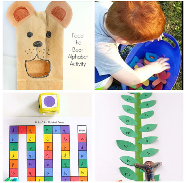 These preschool alphabet games are so much fun for kids!